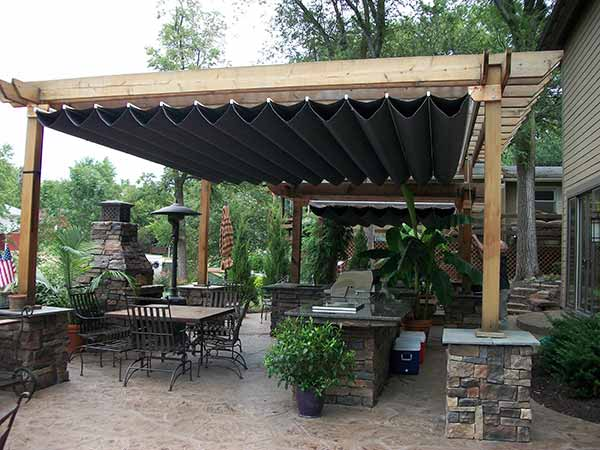 patio covers pergolas awnings springfield missouri. Black Bedroom Furniture Sets. Home Design Ideas