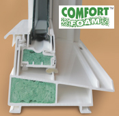 comfort foam single hung