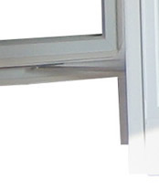 garden window steel hinges
