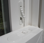 single hung window vent locks