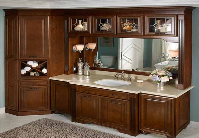 Beautiful Pretty Amp Functional Bathroom Storage Ideas  The Inspired Room