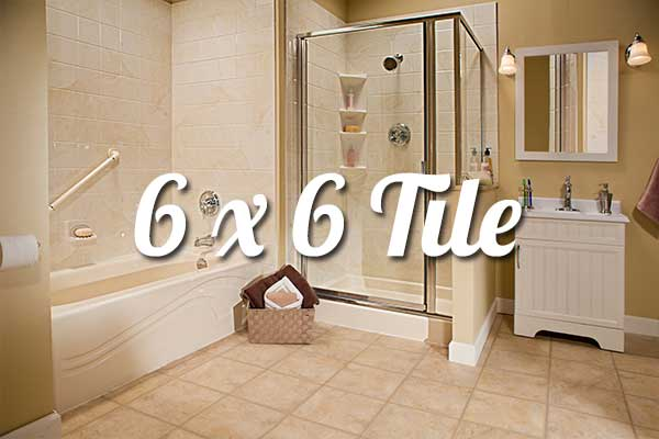 6x6 acrylic bathroom walls liberty home solutions llc for 6x6 room design
