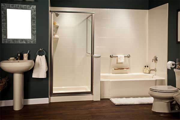 8x10 Acrylic Bathroom Walls - Liberty Home Solutions, LLC