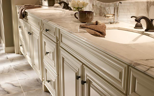 Bathroom vanities cabinets liberty home solutions llc for Custom bath cabinets
