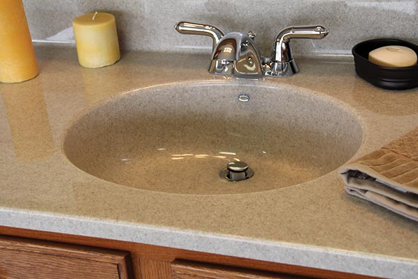 Solid surface countertops liberty home solutions llc for Solid surface counters