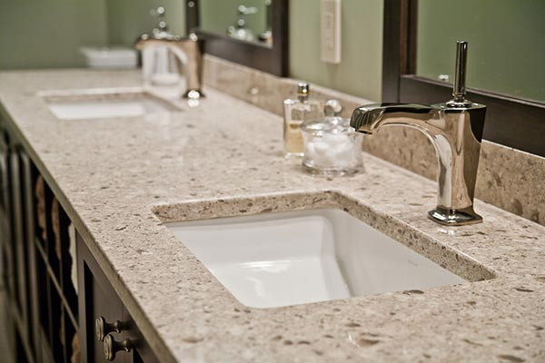 Cultured Marble Countertops In Kitchen
