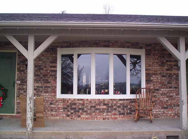 Bow Windows Installed by Liberty Home Solutions in Springfield Missouri