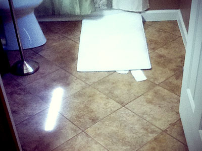 Bathroom Floor Tile Liberty Home Solutions Llc