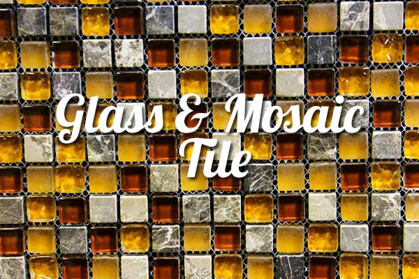 Glass and Mosaic tile for bathroom remodeling in Springfield Missouri
