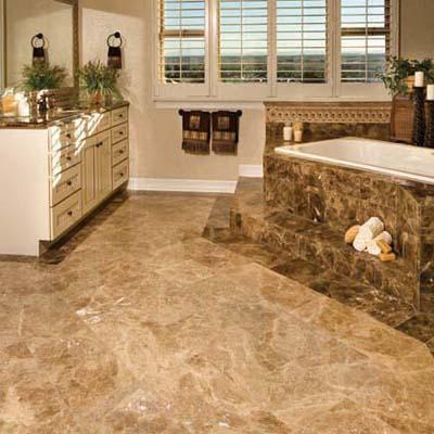 Natural Stone Tile Floor - Liberty Home Solutions, LLC