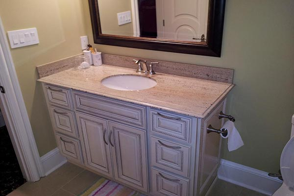 Granite Bathroom Countertops Liberty Home Solutions Llc