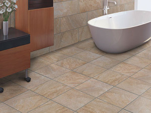 Using large tile for bathrooms