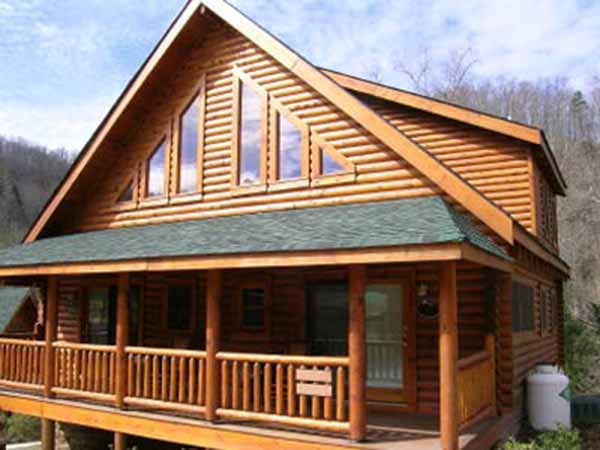 Log siding siding springfield missouri for Log cabin sunroom additions