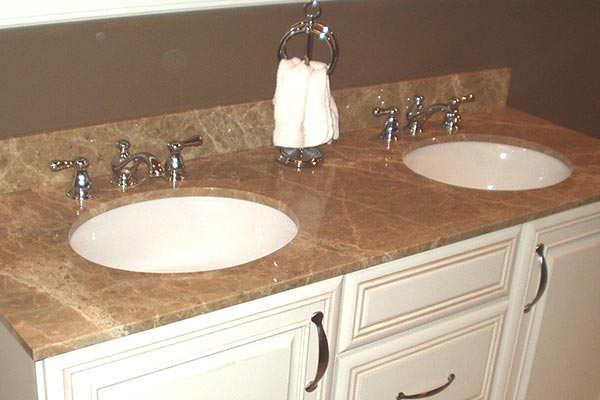 Bathroom Quartz Countertops quartz bathroom countertops - liberty home solutions, llc