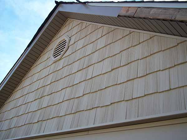 Vinyl shingles price for Wood shingle siding cost