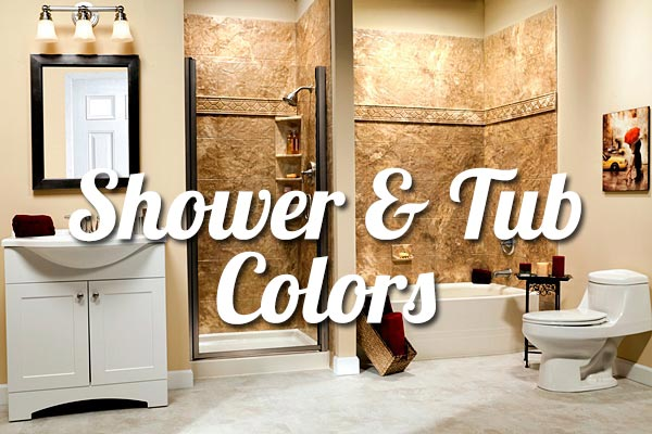 Shower and Bathtub Wall Tile Colors