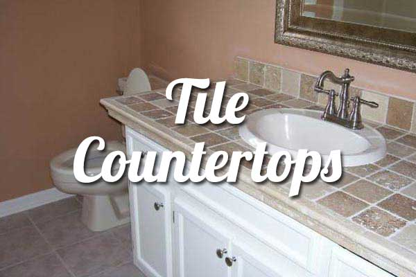 Tile Bathroom Countertops Springfield Missouri
