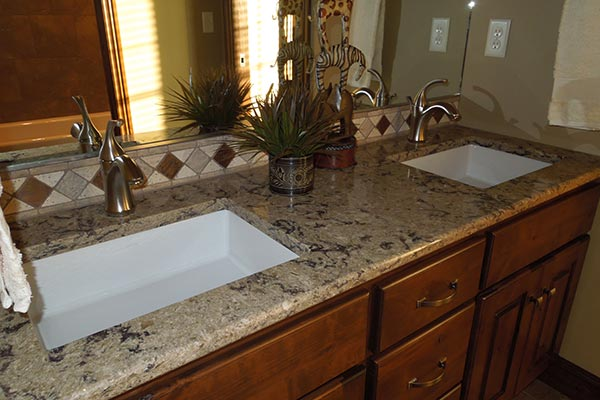 Bathroom Makeover Granite remodel bathroom countertops. choosing bathroom