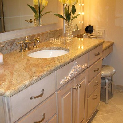 Bathroom Countertops Tile Bathroom Countertops Solid Surface Material ...