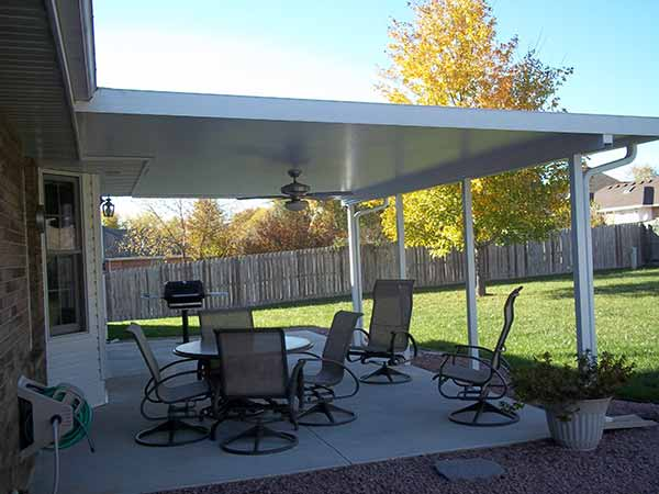 Solid Insulated Patio Covers by Liberty Home Solutions