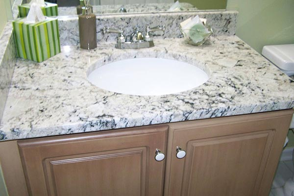 Bathroom countertops liberty home solutions llc - Marble countertops for bathrooms ...