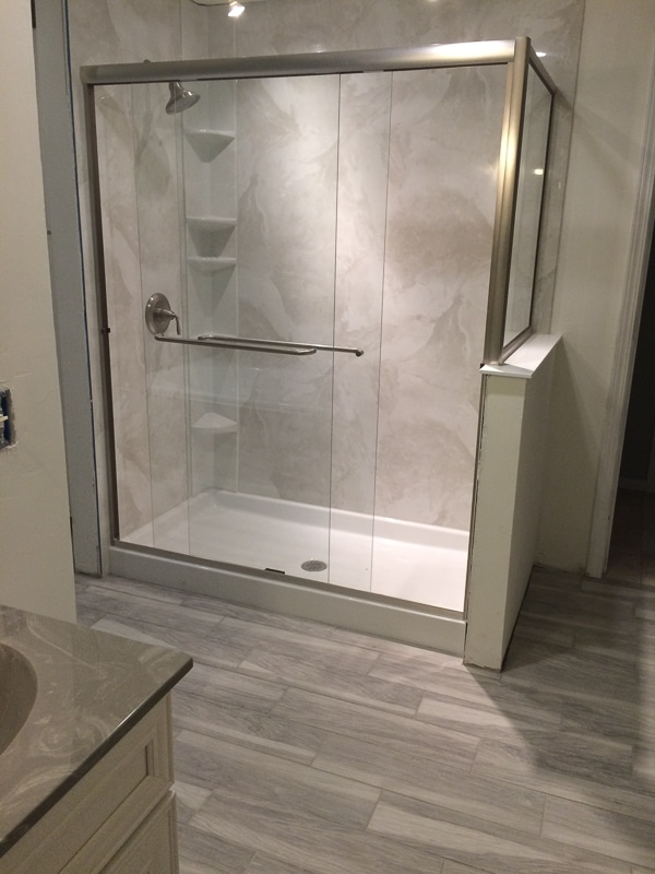 Bathroom Remodel With Walk In Shower walk-in showers | bathroom remodel | springfield missouri