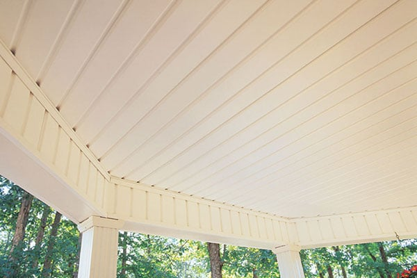 Using Vinyl Soffit For Porch Ceiling Taraba Home Review